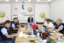 Muğla Orman Bölge Müdürlüğü'nde Değerlendirme Toplantısı Yapıldı