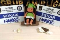 Muğla'da Yapılan Operasyonda Oyuncak Bebeğin İçinden Kokain Çıktı