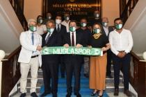 Muğlaspor Yönetim Kurulundan Vali Orhan Tavlı'ya Ziyaret