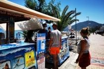 Tatilcilere Hizmet Veren Su Sporları Pandemiye Uygun Hizmete Başladı