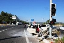 Ula'da İki Araç Çarpıştı: 5 Kişi Yaralandı!