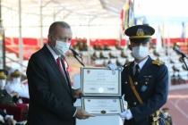 Hava Harp Okulu Birincisi Muğlalı Teğmen Diplomasını Erdoğan'dan Aldı