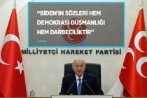 MHP Genel Başkanı Bahçeli'den Biden'ın Açıklamalarına Sert Eleştiri