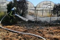 Muğla'da Seraya Sıçrayan Yangın Söndürüldü