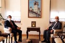 Muğla Valisi Orhan Tavlı Başkan Gürün'ü Ziyaret Etti