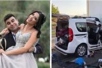 Aydın'dan Düğünleri için Bursa'ya Dönen Çift Tırın Altında Kaldı