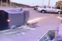 Bodrum'da Kamyonet Devrildi 2 Kişi Yaralandı!