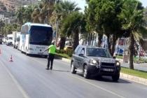 Bodrum'da Toplu Taşıma Araçlarında Koronavirüs Denetimi