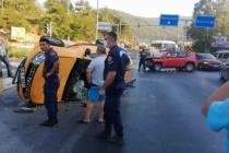 Bodrum'da Takla Atan Taksideki Kanun Sanatçısı Yaralandı