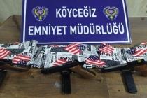 Köyceğiz'de Yasa Dışı Silah Ticareti Yapan 2 Kişi Yakalandı