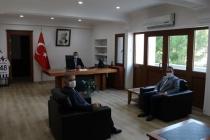 Muğla Sıtkı Koçman Üniversitesi'nden Kaymakam Erdoğan'a Ziyaret