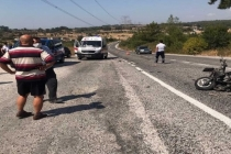 Muğla'da Motosiklet İle Otomobil Çarpıştı: 1 Yaralı
