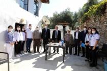 Başkan Gürün'den Koca Çınarlara Ziyaret