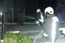 Bodrum'da İş Yerinde Çıkan Yangın Hasara Neden Oldu