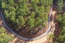 DSİ Menteşe'nin Göktepe Köyü'nün Su Götürmek İçin Dağları Aşıyor
