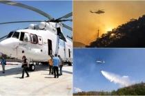 Dünya'nın En Büyük Helikopterinin Muğla'daki Görevi Sona Erdi