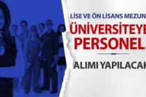 Muğla Sıtkı Koçman Üniversitesi Tekniker ve Teknisyen Alımı Yapacak