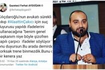 """Alaattin Çakıcı'nın Danışmanı Ferhat Aydoğan: """"Demirden Korksak Trene Binmezdik"""""""