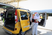 Büyükşehir Ulaşımda 151 Bin 247 Adet Dezenfekte İşlemi Gerçekleştirdi