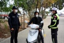Datça'da Kurallara Uymayan 11 Motosiklet Sürücüsüne Ceza Yağdı