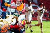 Elif Bebeğin Kurtarılma Anı Muğlaspor'un Gol Sevincine Yansıdı