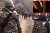 Ermenistan Ordusu SİHA'lardan Kaçmak İçin Ormanı Yaktı