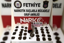 Fethiye'de Yangın Tüpüne Gizlenmiş Uyuşturucu Ele Geçirildi!