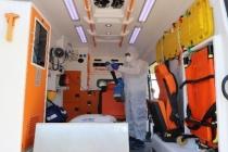 Hasta Nakil Ambulanslarında Hijyen Arttırıldı