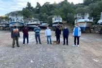 Marmaris'te Teknecilerin Çekek Yeri Sorununu AK Parti İlçe Yönetimi Çözdü