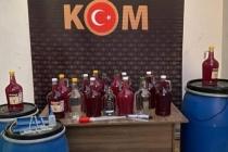 Muğla'da 22 Adrese Sahte İçki Operasyonu !