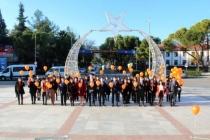 Muğla'da 25 Kasım Kadına Yönelik Şiddete Karşı Uluslararası Mücadele Günü