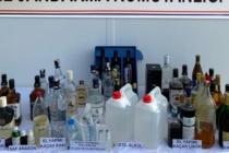 Muğla Jandarma'dan Sahte İçki Operasyonu