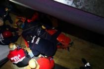 Bodrum'da İnşaata Sipariş Götüren Kurye, Havalandırma Boşluğuna Düştü