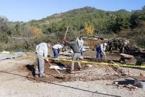 Fethiye'de Çocukların Bulduğu Tarihi Mezarda Kazı Çalışması Başlatıldı