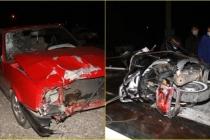 Fethiye'de Otomobil İle Çarpışan Motosikletin Sürücüsü Öldü