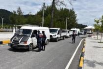Jandarmadan Marmaris'te Yılbaşı Öncesi Yol Denetimi