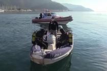 Marmaris'te Dalgıçlar Deniz Dibi Temizliği Yaptı