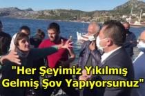 Marmaris'te Kaçak Yapıları Yıkılanlardan CHP'li Vekile Tepki!