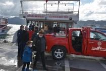 Marmaris'teki Bir Gezi Teknesinde Fritöz Kısa Devre Yaptı Yangın Çıktı