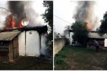 Muğla'da Ahşap Çatılı Evde Çıkan Yangın Korkuttu