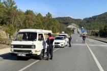 Muğla'da Jandarmanın Koronavirüs Denetiminde Ceza Yağdı