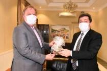 Rusya'nın Antalya Başkonsolosu Oleg Rogoza, Vali Tavlı'yı Ziyaret Etti