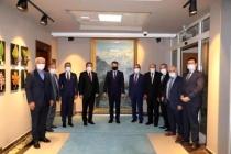 Tavlı, Otgöz ve Saylak, Tarım ve Orman Bakanı Bekir Pakdemirli'yi Ziyaret Etti