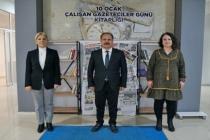 AK Parti Menteşe İlçe Başkanlığınca Gazeteciler İçin Kitaplık Oluşturuldu