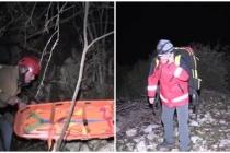 Bodrum'da Dağ Yürüyüşünde Kayalıklara Düşen İş İnsanı 8 Saatlik Çalışmayla Kurtarıldı