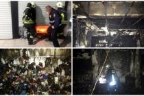 Marmaris'te İş Yeri Yangını