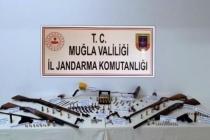 Muğla'da Kurusıkı Tabancaları Yivli Namlu Yaparken Yakalanan 4 Kişi Gözaltına Alındı