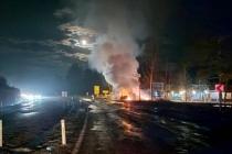 Muğla'da, Seyir Halindeki Araç Alev Alev Yandı