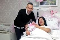 Muğla'da Yeni Yılın İlk Bebeğine 'Asya' İsmi Verildi