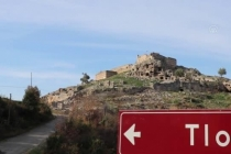 Seydikemer'de Antik Kent Önündeki İstinat Duvarı Likya Figürleriyle Renklendirildi